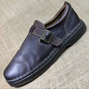 Born oxfords loafers brown slip on size 13 W